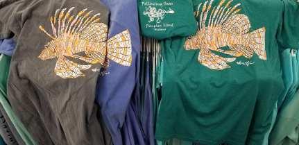 Lionfish tshirt